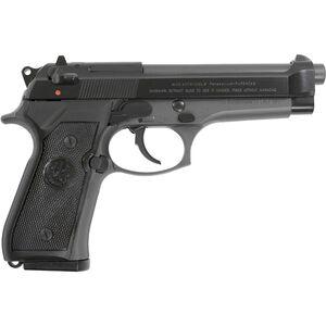 """Beretta 92FS 9mm Luger Semi Auto Pistol 4.9"""" Barrel 10 Rounds Two Tone Blued/Gray Finish"""