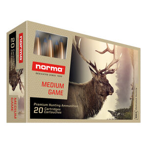 Norma USA Bondstrike Extreme .300 WSM Ammunition 20 Rounds 180 Grain Polymer Tip 3084fps