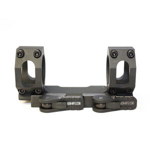American Defense Recon SL 30mm Dual Ring Straight Low Scope Mount Black AD-RECON-SL-30-STD-TL