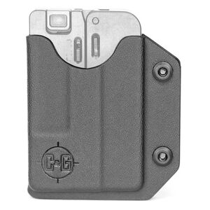 Trailblazer Firearms LifeCard Holster for .22LR Belt Clip IWB Right Hand Kydex Black