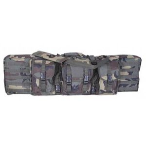 Voodoo Tactical Padded Weapon Case Ballistic Cloth 46 Inches Woodland Camo