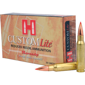 Hornady .308 Winchester Ammunition 20 Rounds SST 125 Grains 80866