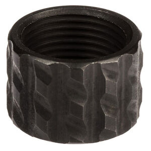 CruxOrd 9/16-24 Thread Protector Stainless Steel Blackened