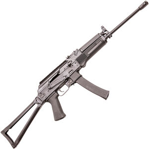 "Kalashnikov USA KR-9 9mm Luger AK Style Semi Auto Rifle 16.25"" Threaded Barrel 30 Rounds Polymer Handguard Folding Stock Matte Black Finish"