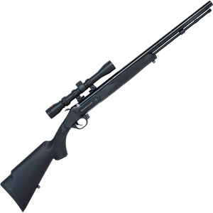 "Traditions Buckstalker Break Action Black Powder Rifle .50 Caliber 24"" Barrel Black Synthetic Stock Blued Finish R5-72003540"