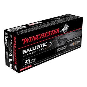 Winchester Ballistic Silvertip .25 WSSM Ammunition 85 Grain Ballistic Silvertip 3470fps