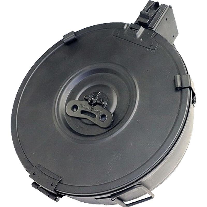 Iver Johnson AK-47 Drum Magazine 7.62x39mm 100 Rounds Steel Black