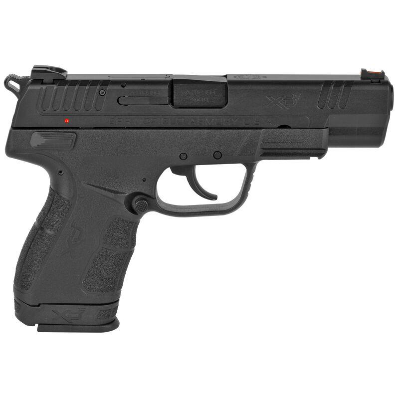 "Springfield Armory XD-E 9mm Luger Semi Auto Pistol 4.5"" Barrel 9 Rounds Fiber Optic Front Sight Polymer Frame Matte Black"