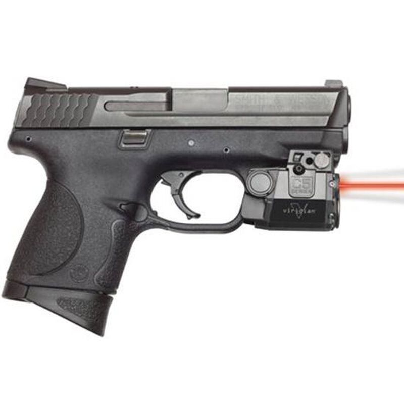 Viridian C5L-R GLOCK 17, 19, 22, 23, 31, 32 Red Laser and 100 Lumen Tac Light Polymer Body Black with TacLoc Holster C5LR-PACK-C1