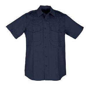 5.11 Tactical Twill PDU Short Sleeve B Class Women's Shirt Small Regular Polyester/Cotton Twill Midnight Navy