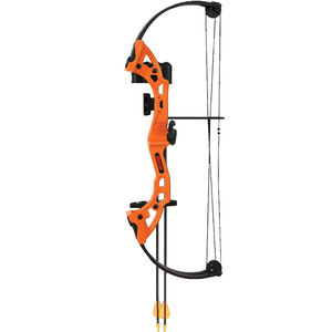 Bear Archery Brave Youth Compound Bow Right Hand Orange