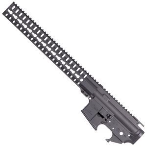 CMMG MK4 Receiver Set .223/5.56 Stripped Upper and Lower Receiver with RKM14 Key-Mod Handguard Sniper Grey Finish