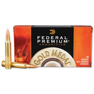 Federal .300 Winchester Magnum Ammunition 20 Rounds SMK BTHP 190 Grains