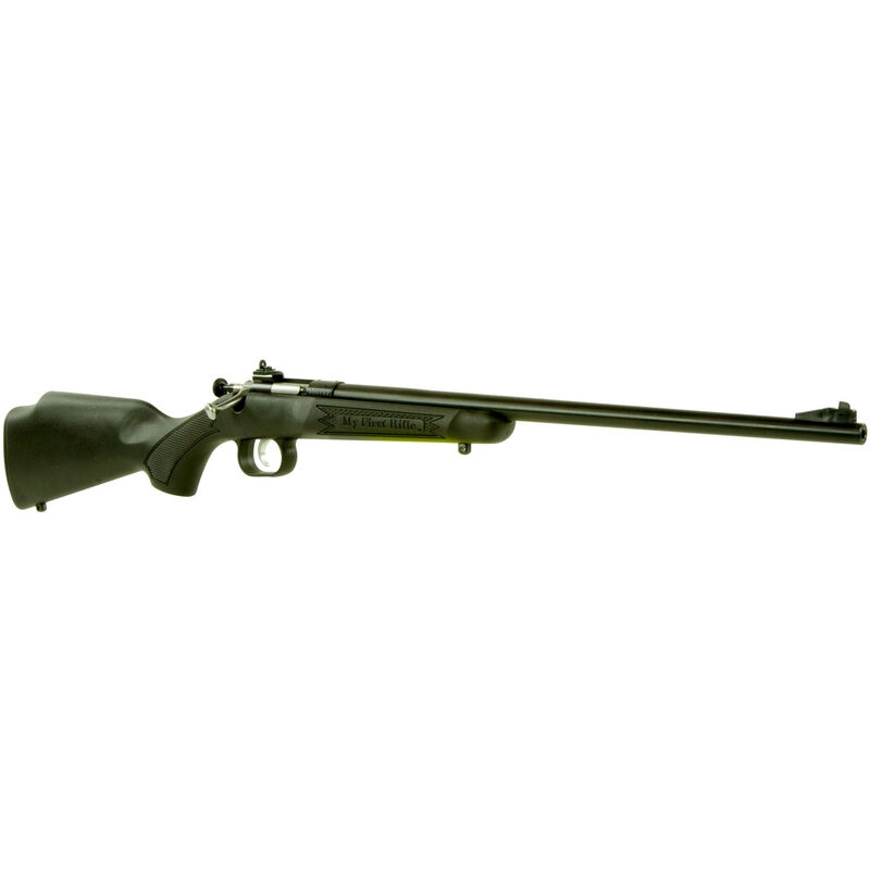 "Keystone Arms Crickett Gen 2 Package Single Shot Bolt Action Rimfire Rifle .22 LR 16.125"" Barrel with Scope and Case Synthetic Stock Black Finish"