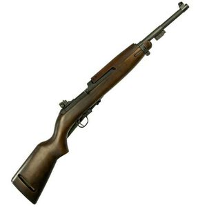 "Inland Manufacturing M1 1945 Semi Auto Rifle .30 Carbine 18"" Barrel 15 Rounds Adjustable Sights Walnut Stock Parkerized ILM30"