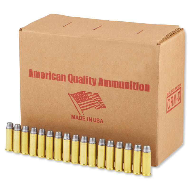 American Quality .44 Magnum Ammunition 250 Rounds LSWC 240 Grains N44M240VP250