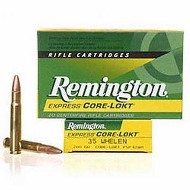 Remington Express  35 Whelen Ammunition 20 Rounds 200 Grain Core-Lokt PSP  Soft Point Projectile 2675fps
