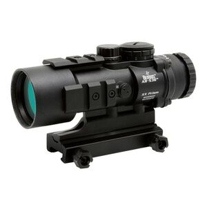 Burris AR-536 AR-15 Fixed 5x36mm Prism Sight Ballistic CQ Reticle CR2032 Battery 1/3 MOA Adjustments Aluminum Housing Matte Black Finish