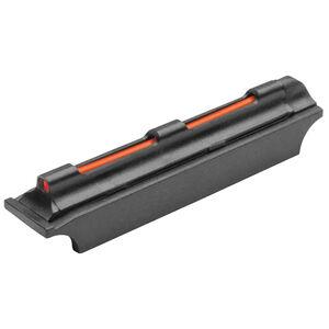 TRUGLO Magnum Glo-Dot Xtreme Red Fiber Optic Shotgun Front Sight Fits 8mm Rib Steel Black