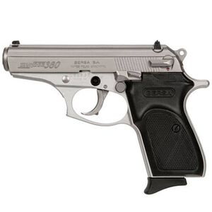 "Bersa Thunder Semi Auto Pistol .380 ACP 3.5""Bbl 8rds Nickel"