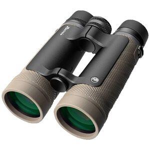 Burris Signature HD 12x50 Binoculars Roof Prism Full Multi-Coated Lens Phase Corrected BAK-4 Roof Prism Open Bridge Rubber Armor Coated Sand Finish