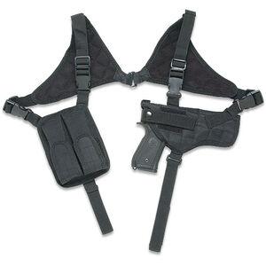 Leapers UTG Law Enforcement Horizontal Shoulder Holster Ambidextrous Polyester Black