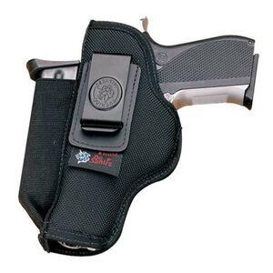 DeSantis N87 GLOCK 26, 27, 29, 30, 33, 39, S&W M&Pc, Walther PPS/PK380, SIG Sauer P239 Pro Stealth Inside the Pant Ambidextrous Nylon Mag Pouch Black
