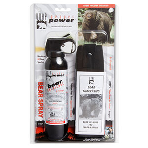 UDAP Industries Super Magnum Bear Spray 9.2 Ounce with Chest Holster 15CP