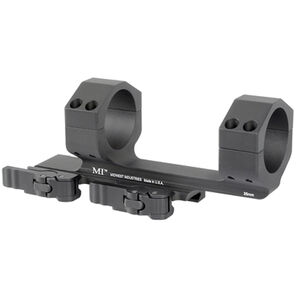 Midwest Industries AR-15 35mm Scope Mount QD Levers 6061 Aluminum Black