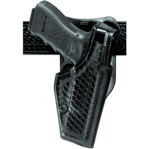 Safariland 2005 Top Gun Low-Ride Duty Belt Holster Fits S&W M&P 9/40 Right Hand SafariLaminate Plain Black