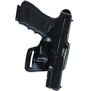 Bianchi 75 Venom S&W Shield Belt Holster Right Hand Leather Black 26118