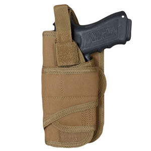 Fox Outdoor Cyclone Vertical Mount Modular Holster Large Autos Left Hand Nylon Coyote Tan 58-7885