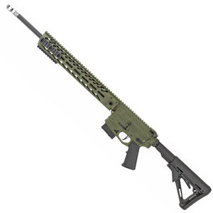 "NEMO Arms Battle-Light AR-15 Semi Auto Rifle .224 Valkyrie 20"" Barrel 10 Rounds 15"" Free Float M-LOK Modular Hand Guard Collapsible Stock Cerakote Sniper Green Finish"