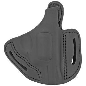 1791 Gunleather RVHX-1 OWB Thumbreak Belt Holster for J-Frame Revolvers Right Hand Draw Leather Stealth Black