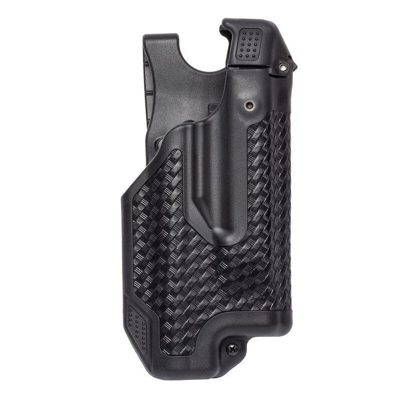 BLACKHAWK! Epoch Level 3 Duty Holster For GLOCK 17/19/22/23 With Light Right Hand Polymer Black 44E000BW-R