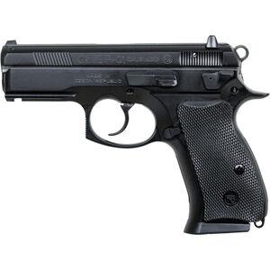 "CZ P-01 Semi Auto Handgun 9mm 3.75"" Barrel 14 Rounds Rubber Grips Black Polycoat Finish Decocker 91199"