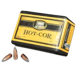 "Speer .35 Caliber .358"" Diameter 220 Grain Hot-Cor Flat Nose Soft Point Bullet 50 Count 2439"