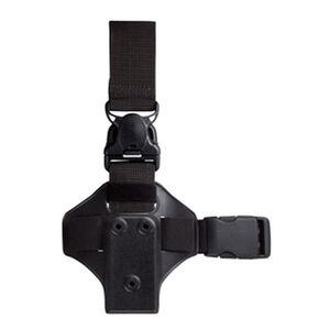 Safariland Lightweight Leg Shroud with Quick Release Strap Polymer Black