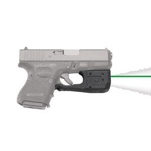 Crimson Trace LaserGuard LL-801G Pro Light/Laser Combo GLOCK 26/27/33/36 150 Lumen LED White Light/5mW Green Laser Polymer Housing Matte Black