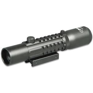 Sun Optics Tri-Rail Tactical 2-6x28 Riflescope Mil-Dot Reticle Picatinny Rail Matte Black