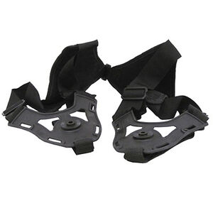 Fobus Double Shoulder Harness Holster Rotating Holsters Cordura and Polymer Ambidextrous Black