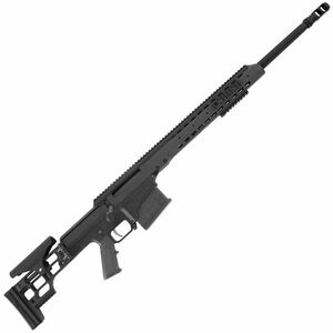 "Barrett Firearms Manufacturing MRAD Bolt Action Rifle .300 Win Mag 24"" Fluted Barrel 10 Rounds Folding Stock Black CeraKote Finish 14361"