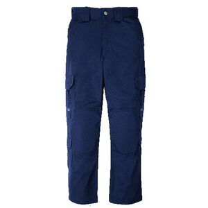 5.11 Tactical Men's EMS Pants Polyester Cotton Waist 36 Inseam 32 Dark Navy 74310