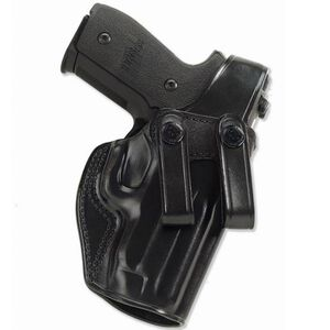 """Galco SC2 S&W J Frame 2"""", Charter Arms Undercover, Colt Agent Inside Waistband Holster Thumb Break Right Hand Leather Black SC2-160B"""