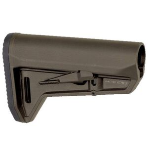 Magpul MOE SL-K AR-15 Carbine Stock Mil-Spec Diameter Compact PDW Style Stock Ambidextrous Release Latch Polymer Olive Drab Green MAG626-ODG