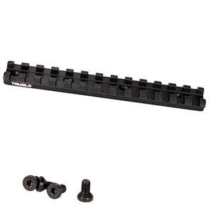 TruGlo Picatinny Optic Rail Ruger 10/22 Aluminum Matte Black