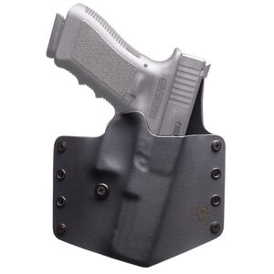 BlackPoint Standard SIG Sauer P365 OWB Holster Right Hand Kydex Black