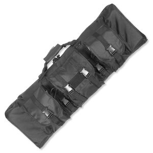 "Uncle Mike's Rifle Assault Bag, Black, Soft, 36"" 64004"