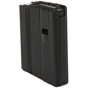 C Products AR-15 6.8 SPC Magazine, Five Rounds, Steel, Black