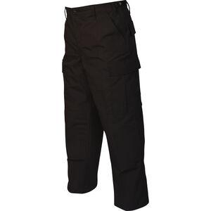 Tru-Spec Gen-1 Police BDU Pants Size Medium Length Short Polyester/Cotton Ripstop Black 1995044